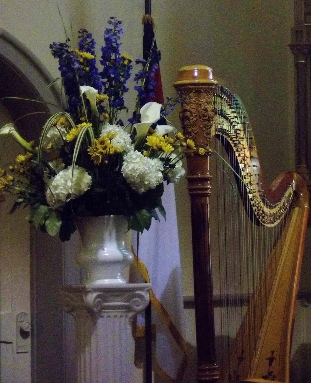 Harp & Violin Duet For A Wedding At Zion