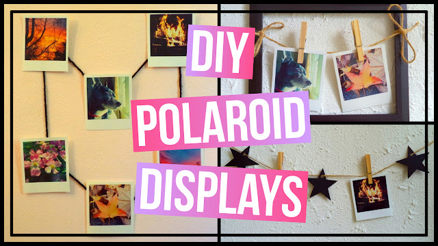 3 DIY Polaroid Wall Art Ideas DIY Polaroid displays