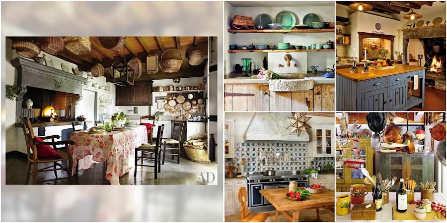 Best of 2013, Cocinas Rústicas, Kitchen, Cottage, Rustic