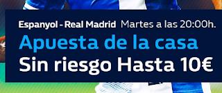 william hill promocion Espanyol vs Real Madrid 27 febrero