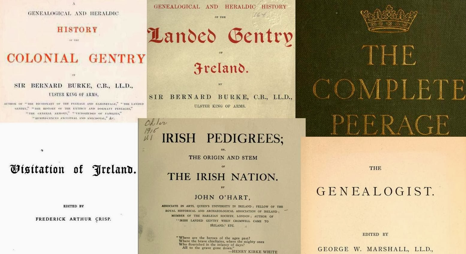 Free Irish Genealogy eBooks