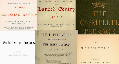 OLD IRELAND IRISH MAP Birmingham Blake Blennerhasset Boyle Browne Burke SURNAMES