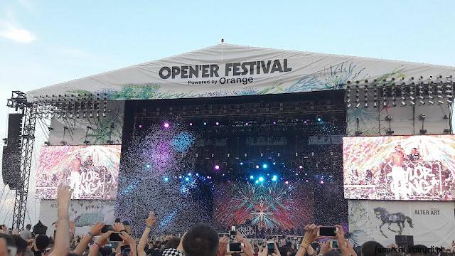 Open'er Festival 2016 - odkrycie roku, najlepsze gwiazdy, plusy i minusy