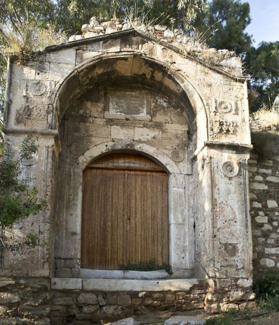 Old Madrasa of Athens  Από τον οθωμανικό Μεντρεσέ απέμεινε μόνον η πύλη  Βασίλης Μαθιουδάκης Photo Basilis Mathiodakis