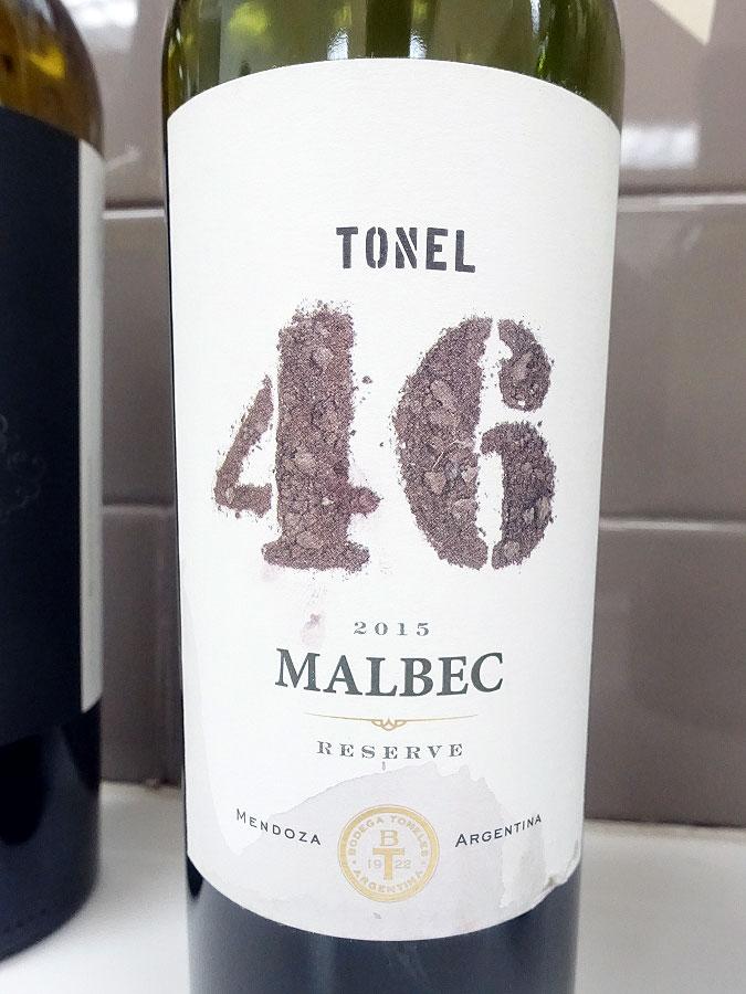 Tonel 46 Malbec 2015 (88 pts)
