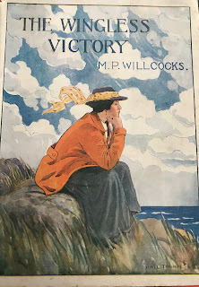 Cover of M.P. Willcocks, The Wingless Victory