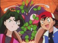 Ash, Aya y Venonat