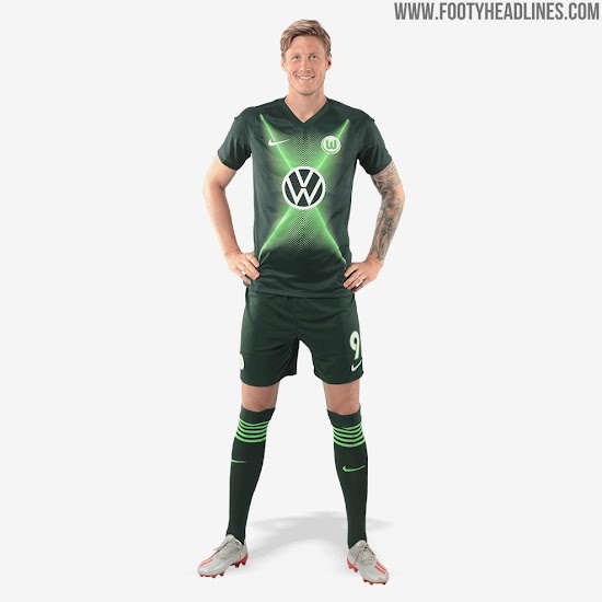 various colors e1f13 cfc0c New VW Logo: Nike Wolfsburg 19-20 Home & Away Kits Released ...