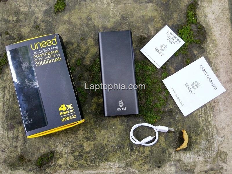 Paket Pembelian Uneed QuickBox M20 20.000mAh