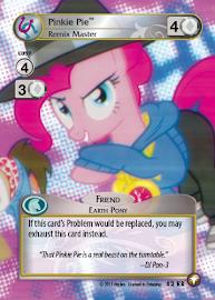 My Little Pony Pinkie Pie, Remix Master Equestrian Odysseys CCG Card