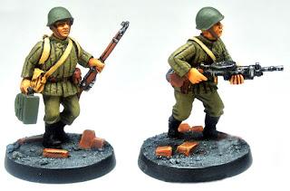Eureka Soviet Infantry