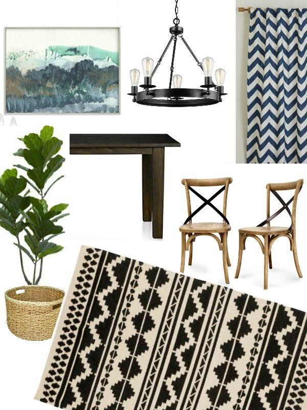 Industrial Modern Farmhouse Mood Board