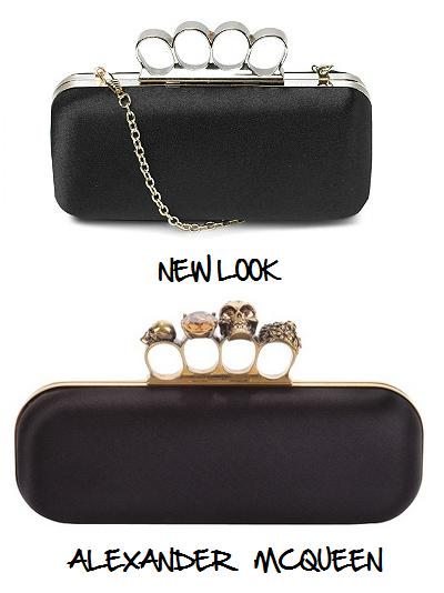 Clones 2011 clutch Alexander McQueen New Look