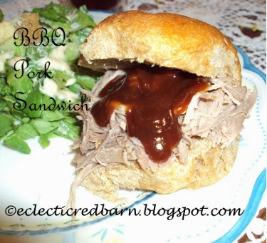 Eclectic Red Barn: BBQ Pork Sandwiches