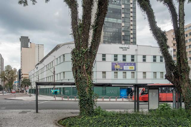 Colégio São José visto da Praça Rui Barbosa