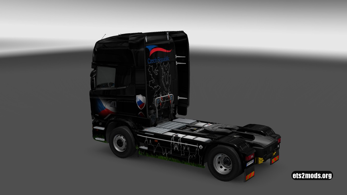 Czech Republic Skin for Scania Streamline