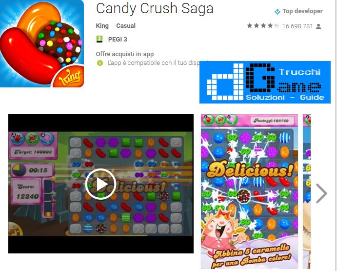 Trucchi  Candy Crush Saga Mod Apk Android v1.88.0.5
