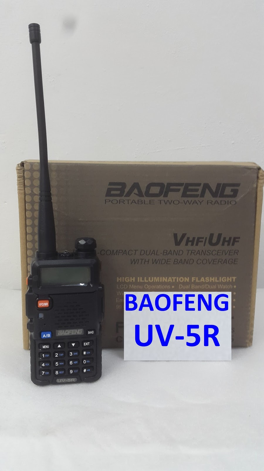 Ht Handy Talky Baofeng Uv 5r Dual Band Uhf Vhf Mall Online Embedded Wireless Client Sxtg 2hnd 24ghz Mimo Senin 30 Mei 2016