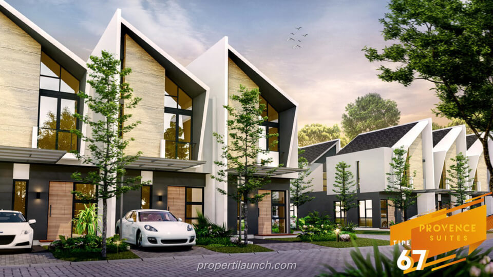 Rumah Provence Suites BSD Tipe 67