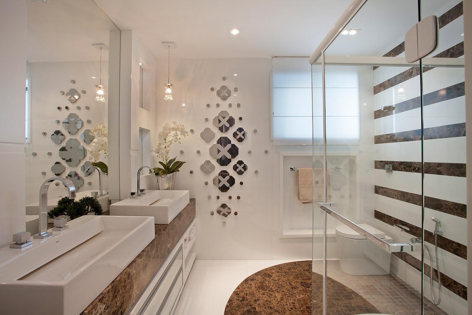 Imagens de #674B38  Clean: Tipos de Box de Vidros Inspire se em 50 Modelos de Banheiros 1600x1067 px 2930 Box Banheiro Fume Ou Incolor