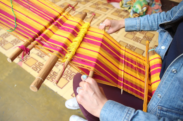 backstrap weaving course guatemala trama textiles