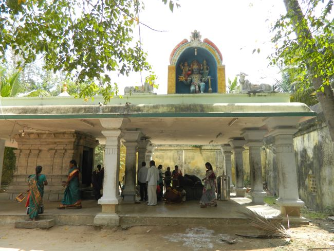Lord Yama's Shrine At Sri Vanchinadhar Swamy Temple