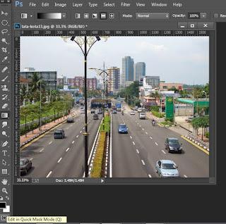 Tutorial Manipulasi Photo Efek Miniatur
