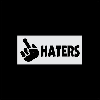 Haters Logo Free Download Vector CDR, AI, EPS and PNG Formats