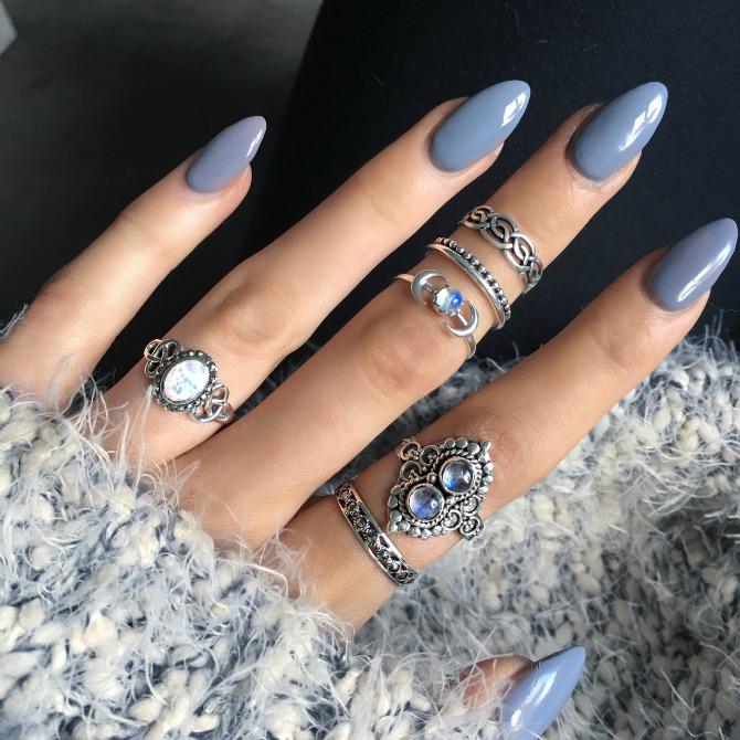 boho nail style