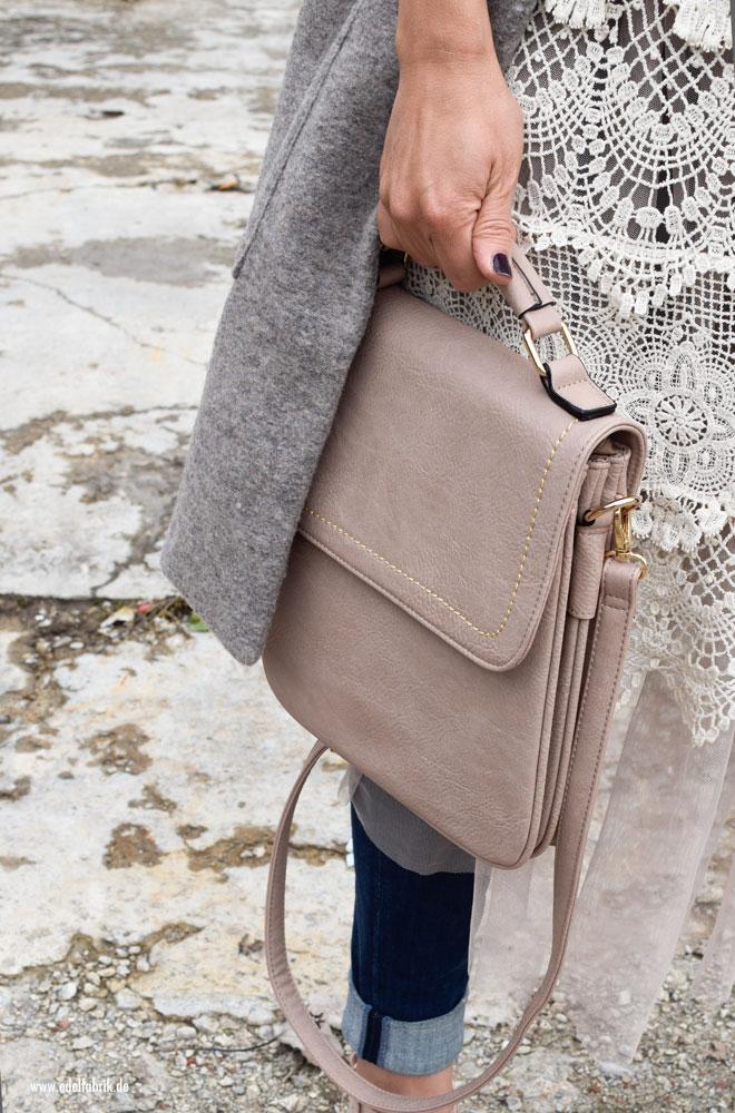 Handtasch in Offrosa