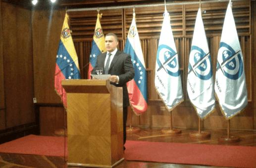 Fiscal venezolano informa nuevas detenciones en caso corrupción
