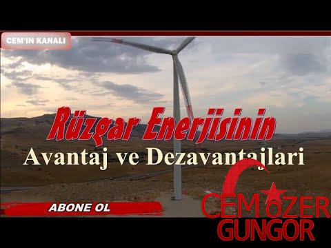Rüzgar Enerjisinin Avantaj ve Dezavantajları