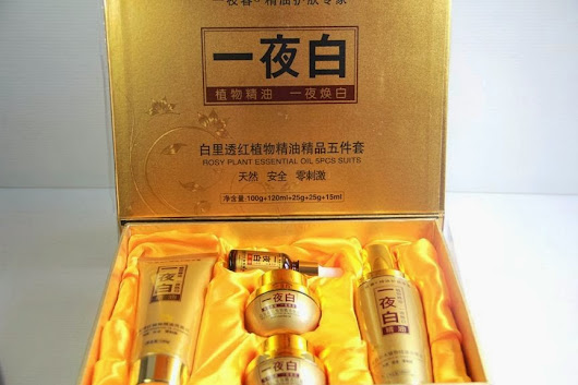 Cream Korea 5 In 1 Original Pemutih Wajah Alami - MAGIC KOREAN  CREAM  SKIN CARE ORIGINAL
