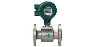 magnetic flow meter, magmeter, or flowmeter