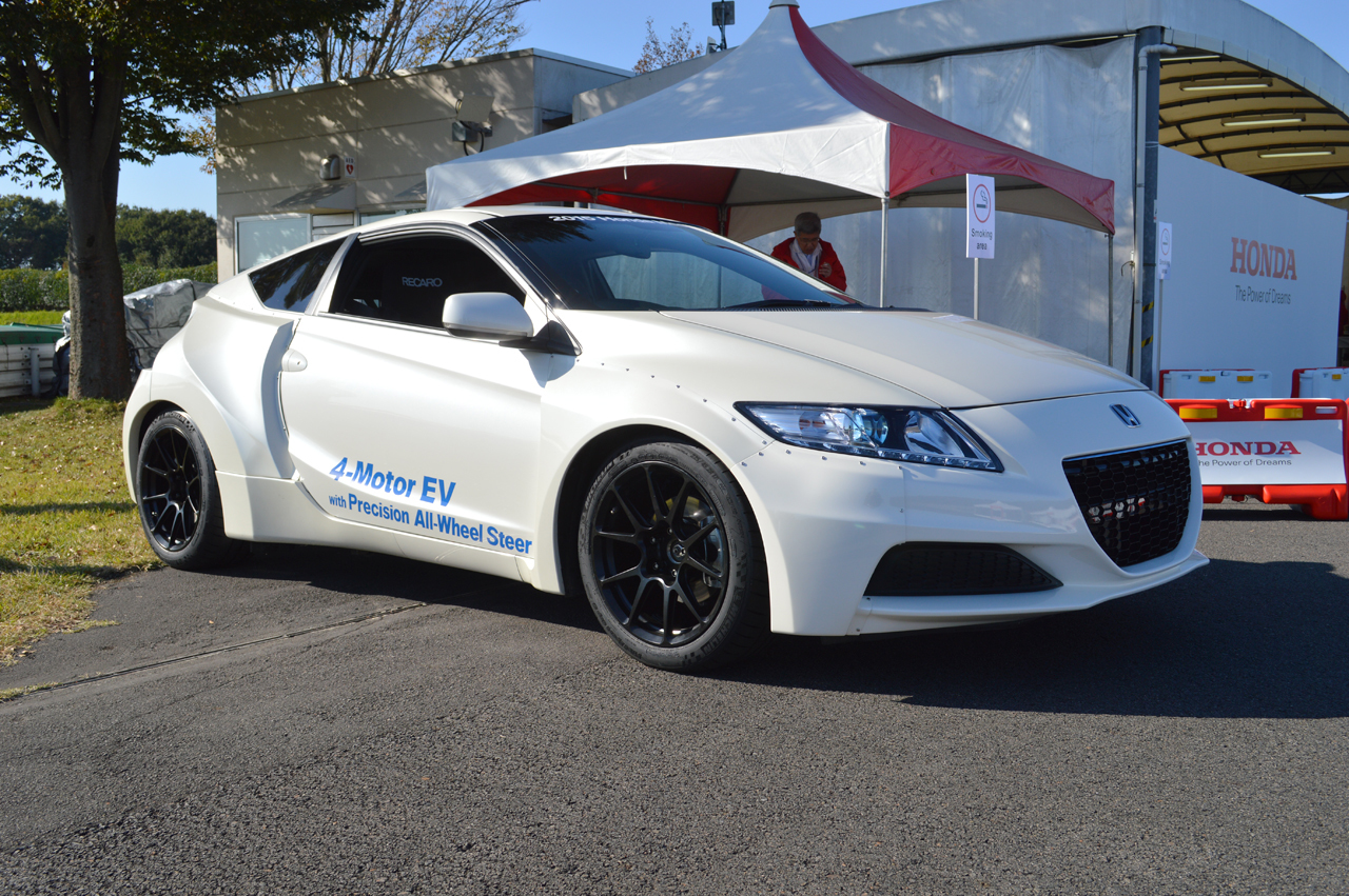Honda First Demonstrated A 4 Motor EV CR Z Prototype In 2015 With Journalists Who Test Drove The Vehicle Suggesting Torque Vectoring Gave It Cornering