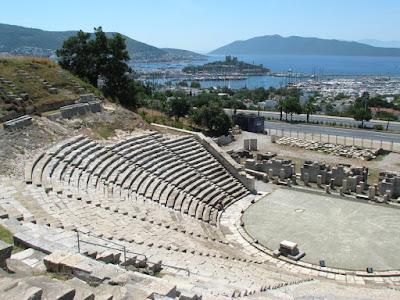 Kunjungi Bodrum Amphitheatre