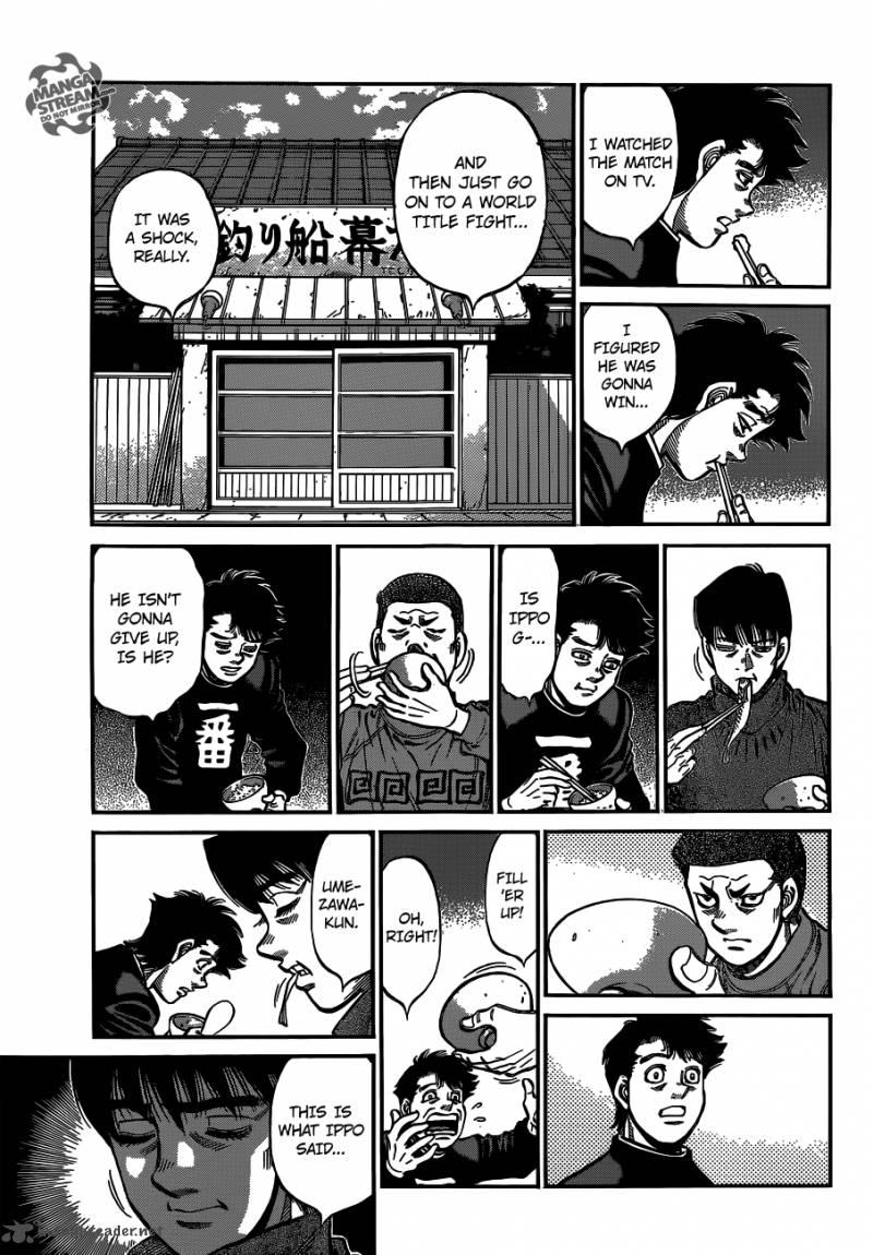 Hajime no Ippo - Chapter 1073