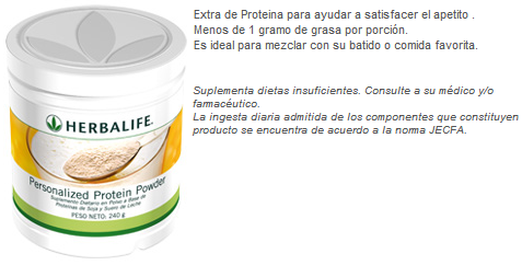 proteina herbalife productos