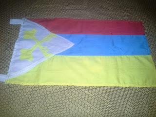 The New Eternal Love Church Flag