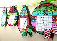 linear equations ornaments