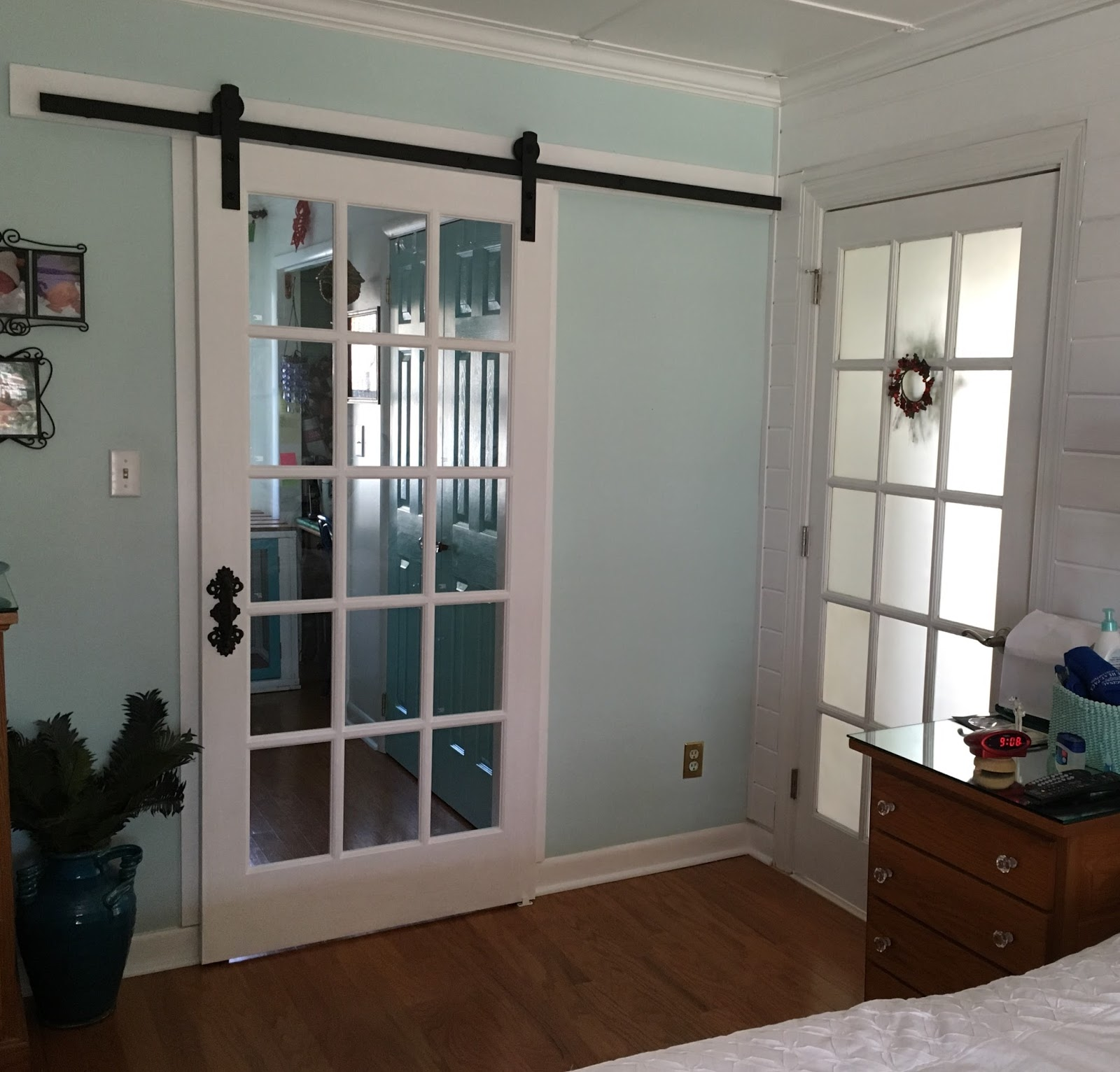 This is a picture of the door hardware info from Lowes  Repurposed For Life  ANOTHER. Barn Doors At Lowes