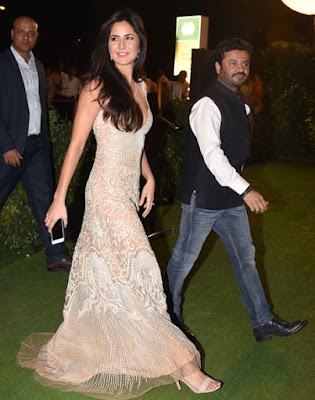 Katrina Kaif in the Reception of Trishya and Suhail Chandhok