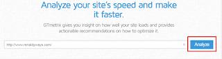 Cara Mengetahui Peforma Kecepatan Blog Melalui GTmetrix