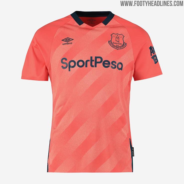 Everton 19-20 Away Kit Released - Footy Headlines