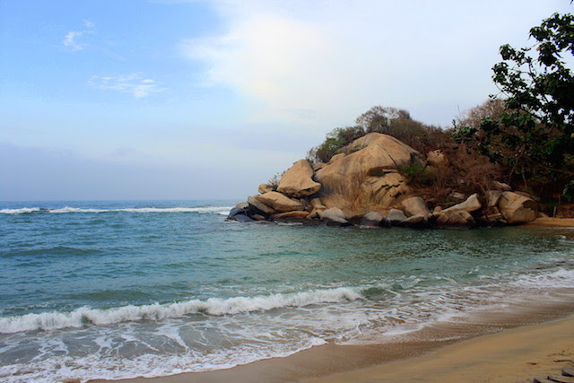 Beach in Tayrona National Park, Colombia