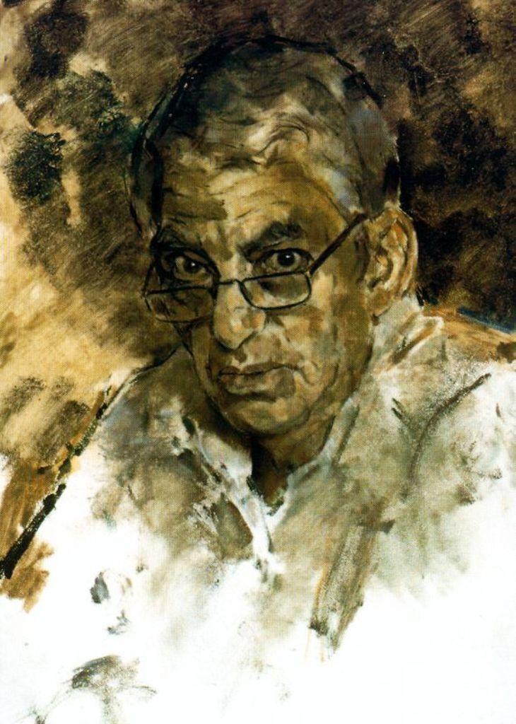 Ricardo Macarrón, Pintor español, Retratos de Ricardo Macarrón, Pintores Realistas Españoles, Galería de retratos figurativos, Autorretrato de Ricardo Macarrón