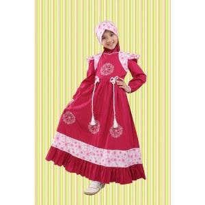 20 Model Baju Muslim Gamis Pesta Anak Terbaru 2018 Eksklusif