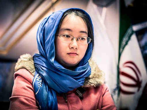 La Chinoise Tan Zhongyi s'empare du titre mondial des échecs féminins - Photo © David Llada
