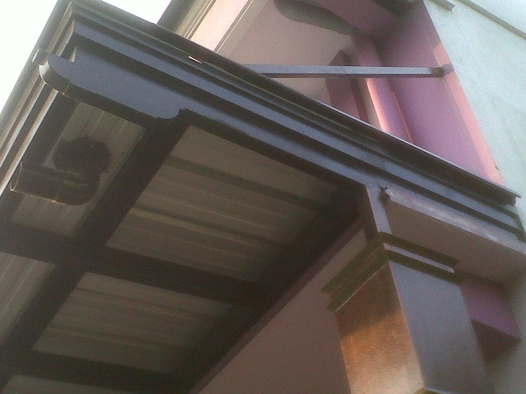 lisplang kanopi baja ringan 80 model sisi rumah minimalis