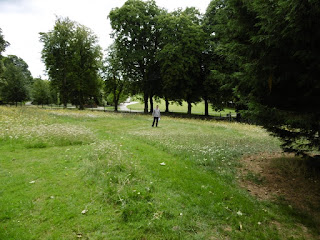 Photo of the old Mini Golf course in Luton's Wardown Park